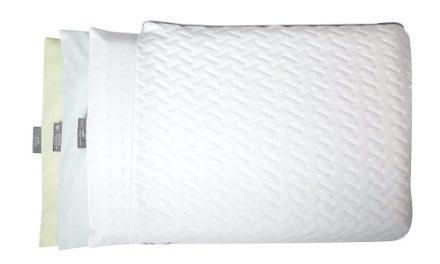 Beautiful Sleep With Brookstone Biosense Pillows